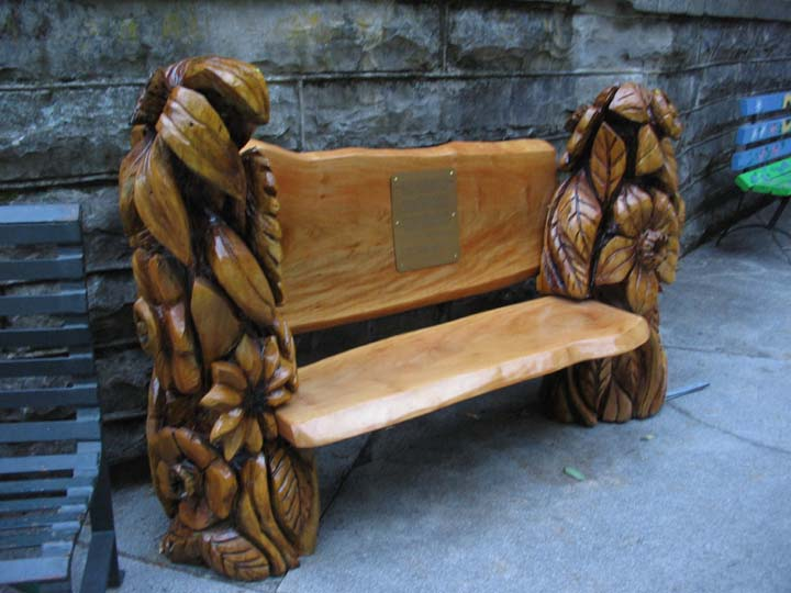 Chainsaw Wood Carving Benches