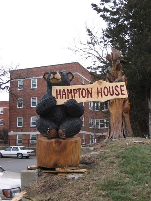 Hampton house bear