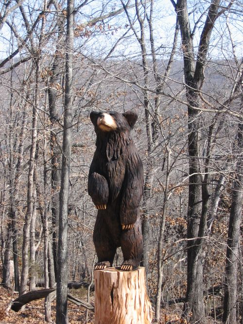 Standing bear, Arkansas