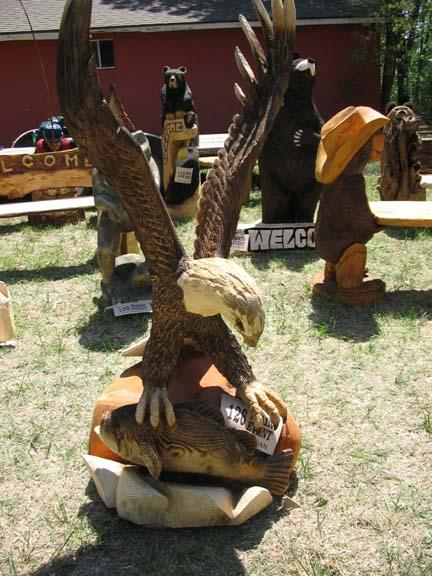 Arkansas wings-up eagle