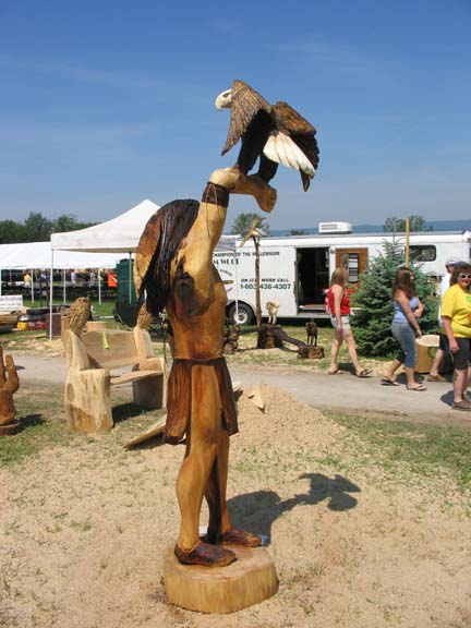 Addison Indian with eagle