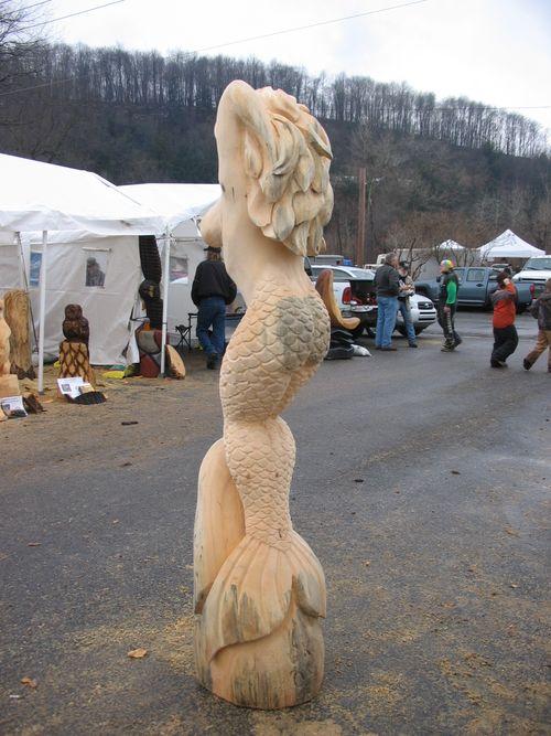 Mermaid III, left rear view