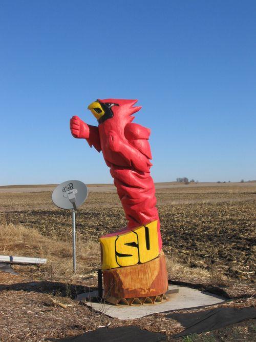 Cy, Iowa State logo