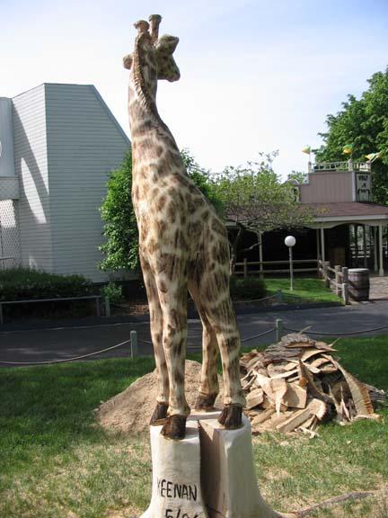 Jack the Giraffe, back side