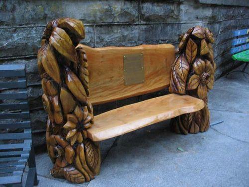 Basin park bench