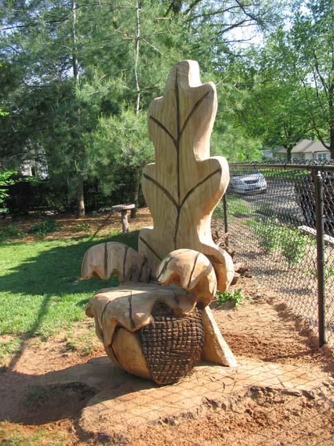 Oak Leaf Chair